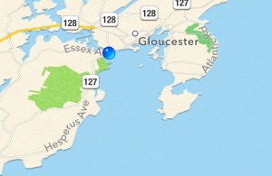 map 300x195 My visit to Gloucester Massachusetts